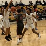 Boys Jv Basketball: Cadets fall in opening round of Queen & King Tournament