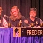 Academic team splits into first night of competition