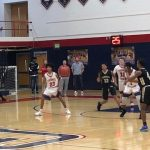 Boys Jv Basketball: Patriots hold off Cadets in Intra-City play