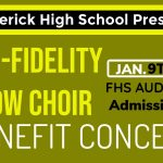 Tonight! FHS Presents High-Fidelity Show Choir Benefit Concert