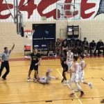 Boys Varsity Basketball: Cadets fight back to defeat Eagles