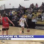 WATCH! LocalDVM.com- Frederick girls basketball doesn't let up over Linganore