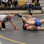 Wrestling: Lions roar past Cadets 52-30