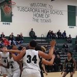Boys Jv Basketball: Titans edge Cadets at Tuscarora