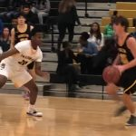 Boys Varsity Basketball: Cadets use career night from Barnes and Struntz to down Cavaliers