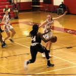 Girls Varsity Basketball: Consistent Cadets down Hubs in Hagerstown 53-33