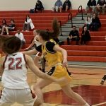 Girls Varsity Basketball: Cadets claim CMC Spires Division title with 44-35 win over Linganore