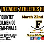 Today in Cadet Athletic History: 3/22/1934- FHS downs Middletown Tigers in Quarterfianls of City Tournament