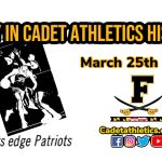 Today in Cadet Athletic History: 3/25/1983- Mark Hoy hits game winner to down TJ in second annual alumni game