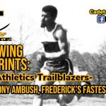 Following Footprints: Cadet Athletics Trailblazers- Anthony Ambush, Frederick's Fastest Man