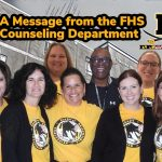 A Message from the FHS Counseling Department 4/1/2020