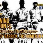 Following Footprints: Cadet Athletic Trailblazers- LeRoy Barrick, FHS Homerun King