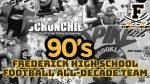 Frederick Football All-Decade Team 1990-1999