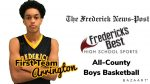 Four Cadets named Boys Basketball All-County by the FNP