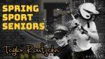 Spring Sport Senior Spotlight: Taylor Routzahn, Cadet Softball