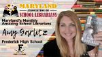 Frederick High's Amy Garlitz named Maryland's Monthly Amazing School Librarian