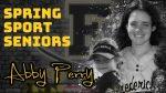 Spring Sport Senior Spotlight: Abby Perry, Cadet Softball
