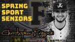 Spring Sport Senior Spotlight: Christopher Prygocki, Cadet Baseball