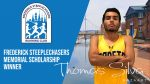 Thomas Silva awarded FSRC Memorial Scholarship by the Frederick Steeplechasers
