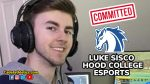 "Sisco 'Rockets"" towards Hood. FHS senior commits to Hood College's Esport Team"