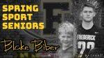 Spring Sport Senior Spotlight: Blake Biber, Cadet Boys Lacrosse