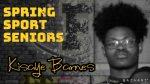 Spring Sport Senior Spotlight: Kisaye Barnes, Cadet Track & Field