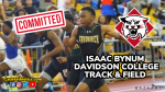 Bynum Continues to Follow Family lead. FHS Senior Hurdler Commits to DI Davidson