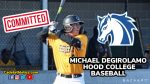 Family, Academics, Baseball. Blazers are a perfect fit for DeGirolamo as senior commits to Hood