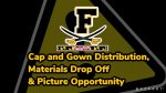 Frederick High School Cap and Gown Distribution/ Picture Opportunity