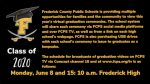 The 129th Graduating Class of Frederick High School Virtual Graduation Viewing Information