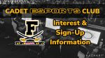 Cadet ESport Club Interest & Sign-Up Information