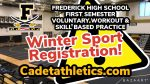 WINTER SPORTS First Semester Voluntary Return to Play Registration