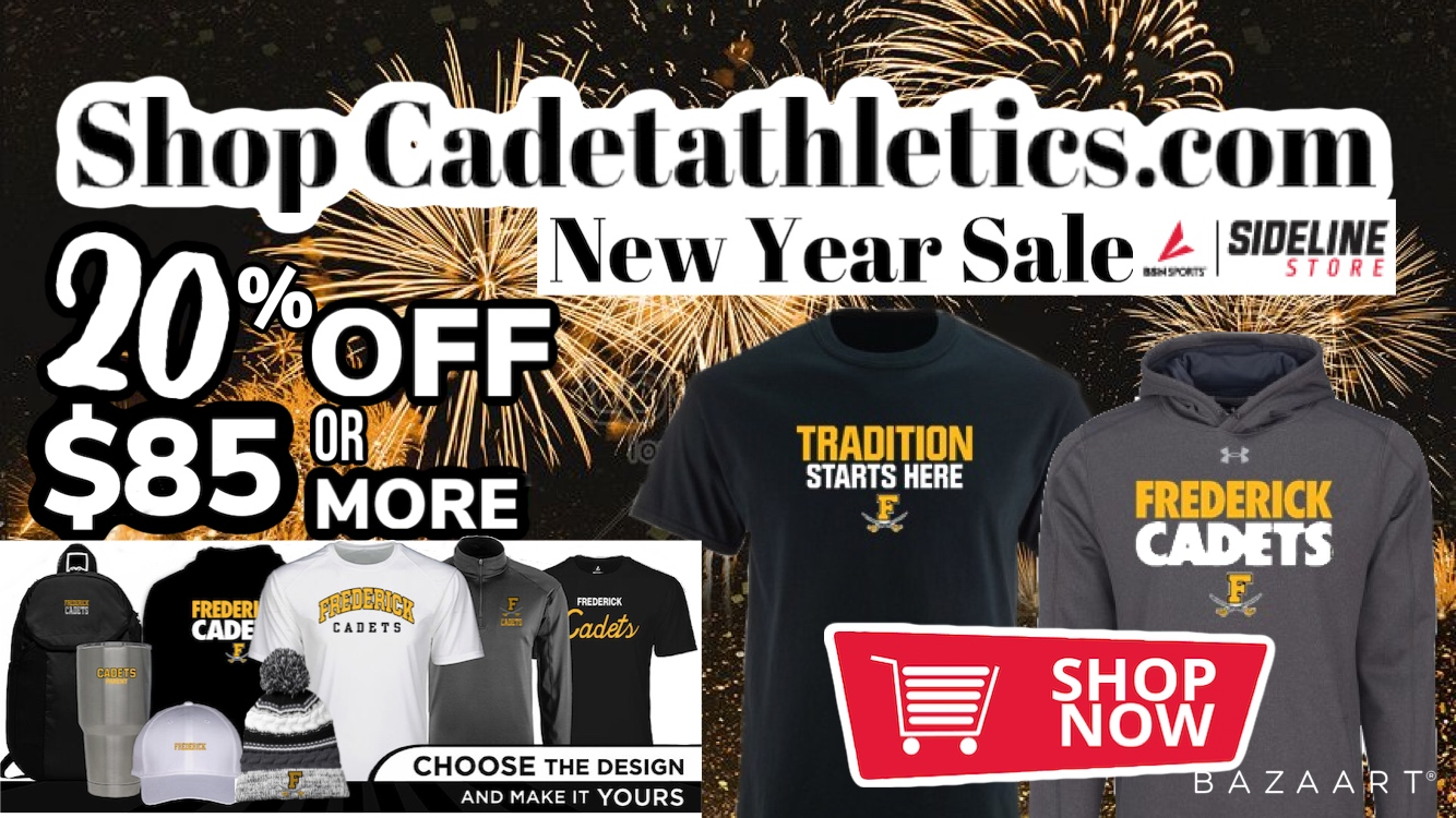 Shop the Cadetathletics.com Holiday 20% Off Sale!