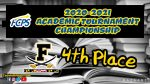 Cadets place 4th at FCPS Academic Tournament Championships
