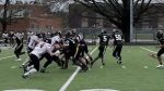 Jv Football: Cadets fall to Lancers at Home