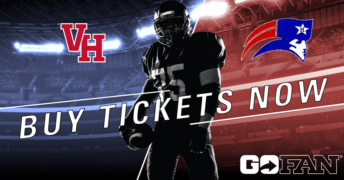 Buy Tickets Online – Vestavia Hills hosts Homewood this Friday!