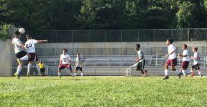 Boys' Soccer vs. St. John's (Scrimmage)