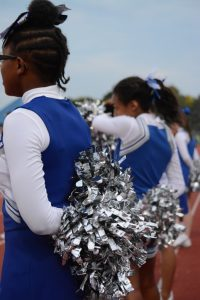 Cheerleading at Homecoming