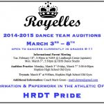 2014-15 ROYELLES Tryouts!