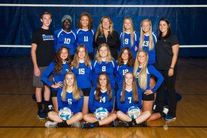 2016 Hopkins Royals Volleyball Teams
