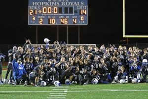 2016 Homecoming:  Royals (21) vs Edina (14)