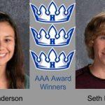 AAA Award goes to Anderson & Eliason