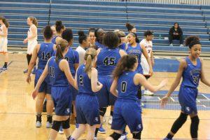 Girls Varsity bball vs Washburn  3/1/17