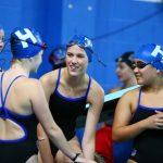 2017 Girls Swimming vs Minnetonka