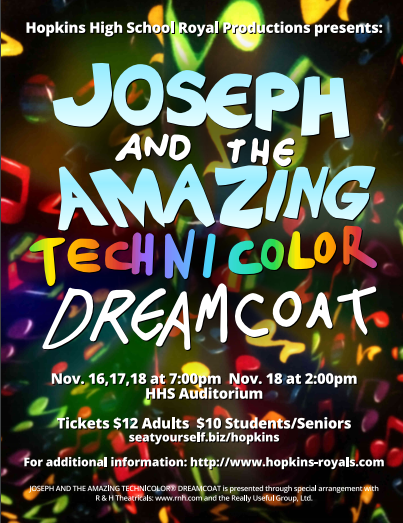 Ticket Sales Now Open for Hopkins Royal Productions Fall Musical