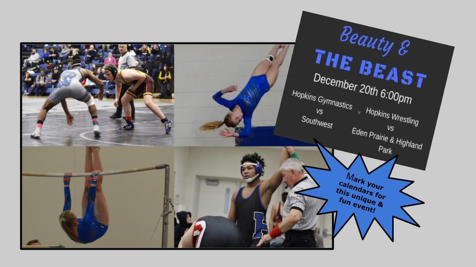 Beauty & the Beast – Wrestling & Gymnastics Combo Event