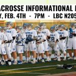Information Meeting for Boys Lacrosse