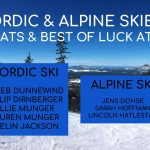 Best of Luck to our State Bound Skiers!