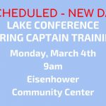 RESCHEDULED: Spring Captains Leadership Training