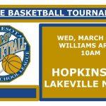 Girls State Basketball Tournament – Info & Permission Slip